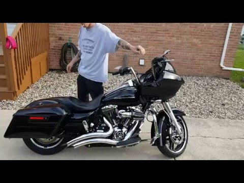 Repeat 2016 Road Glide Special DNA Megaphone Slip on by