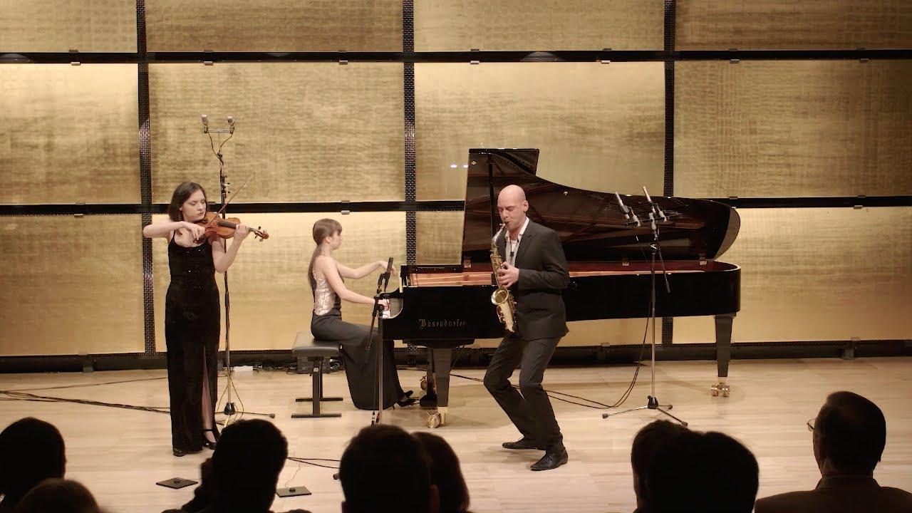 Trio Klavis - Darius Milhaud, La Création du monde, arr. Miha Ferk