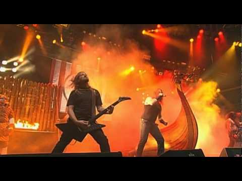 Amon Amarth - Guardians of asgaard (live wacken 2009)