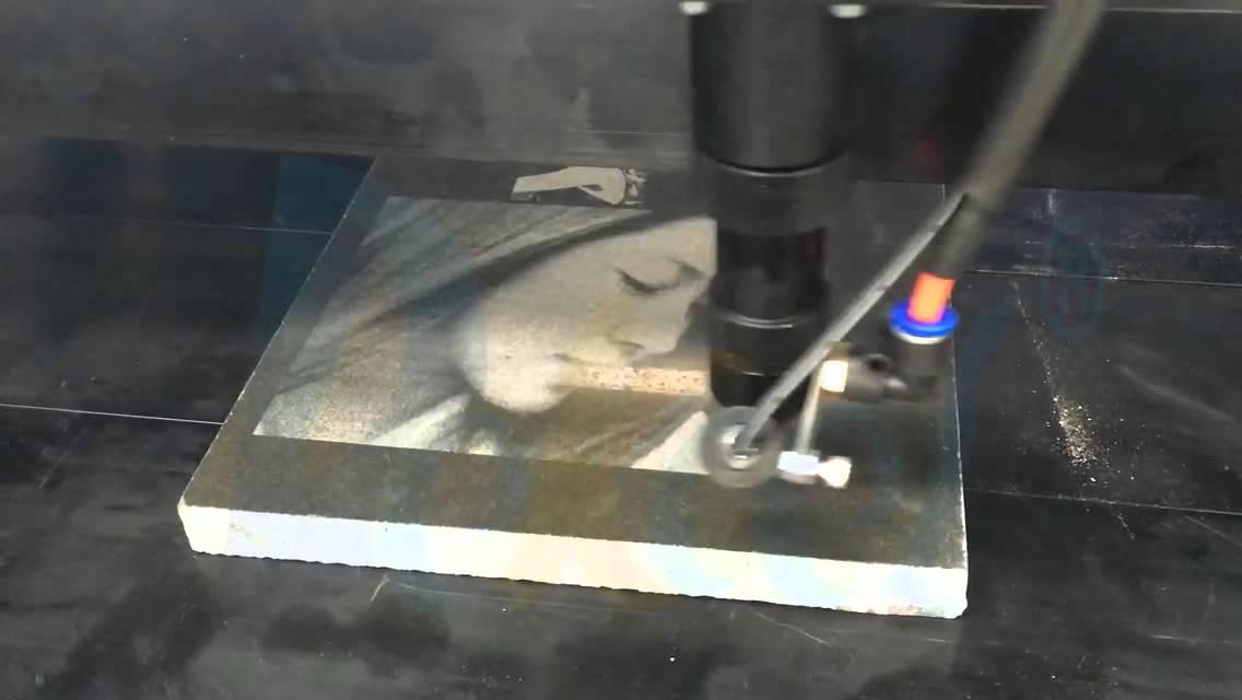 Dekcel Stonemarblegraniteceramic Tile Laser Engraving Machine