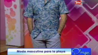 Moda masculina para la playa