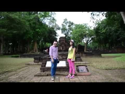 FujiFilm X-A1 เทคนิคถ่ายภาพสถาปัตยกรรม ปราสาทเมืองสิงห์ รายาบุรี
