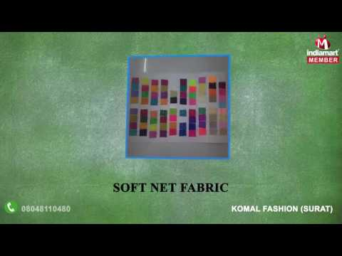 Velvet And Georgette Fabric by Komal Fashion, Surat