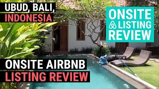 Gambar cover Onsite Airbnb Listing Review【Ubud, Bali, Indonesia】 Luxury