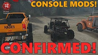SpinTires MudRunner: MODS COMING TO CONSOLE!