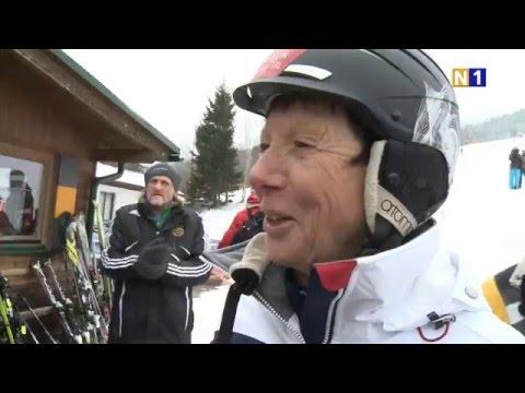 Promi Skirennen 2016 am Stuhleck mit Siegerehrung im Casino Baden