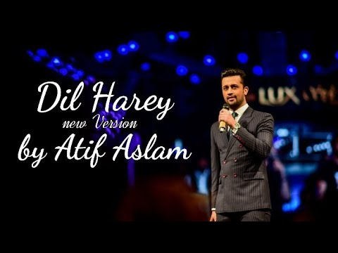 Dil Harey by Atif Aslam on 16th LSA's|Dil Harey new original version by Atif Aslam|Lovely song |HD❤