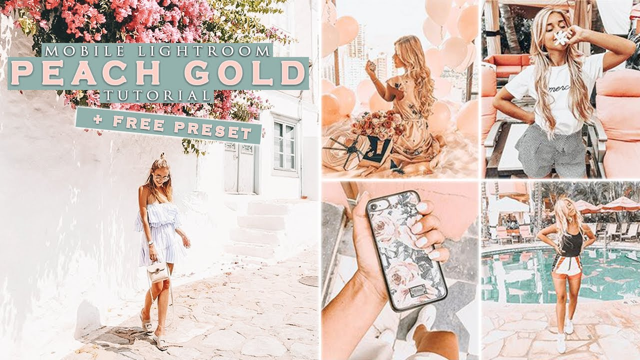 Peach Gold | Mobile Lightroom Presets - Beyond The Grid