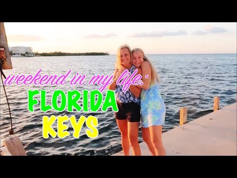 weekend in my life: florida keys | university of alabama fall break