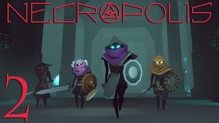 Necropolis - 2 - Buying a Codex, Upgrading Our Weapon, Identifying Potions. Necropolis gameplay.