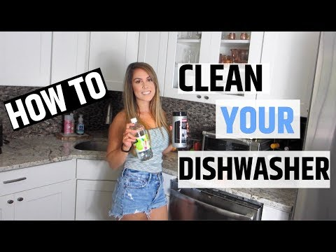 HOW TO CLEAN YOUR DISHWASHER 2019 WITH BAKING SODA AND VINEGAR | EASY STEPS TO CLEAN DISHWASHER