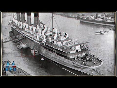 EL RMS MAURETANIA - (TERCERA PARTE) - 3D ANAGLIFO - MendoZza