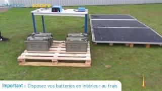 MyShop Solaire - Montage d'un kit solaire 840W autonome Afrique premium