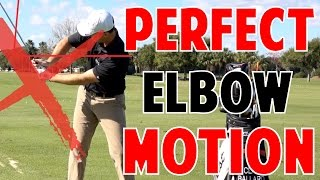 Golf Lesson | Perfect Elbow Motion in Crazy Detail