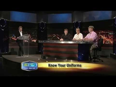 Quiz - Know your Uniforms (Anthony Morgan, Greg Fleet, Matt Parkinson, Trevor Marmalade)