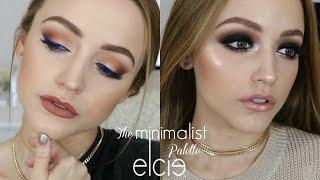 2 LOOKS Using 1 PALETTE | Elcie Minimalist Palette Tutorial