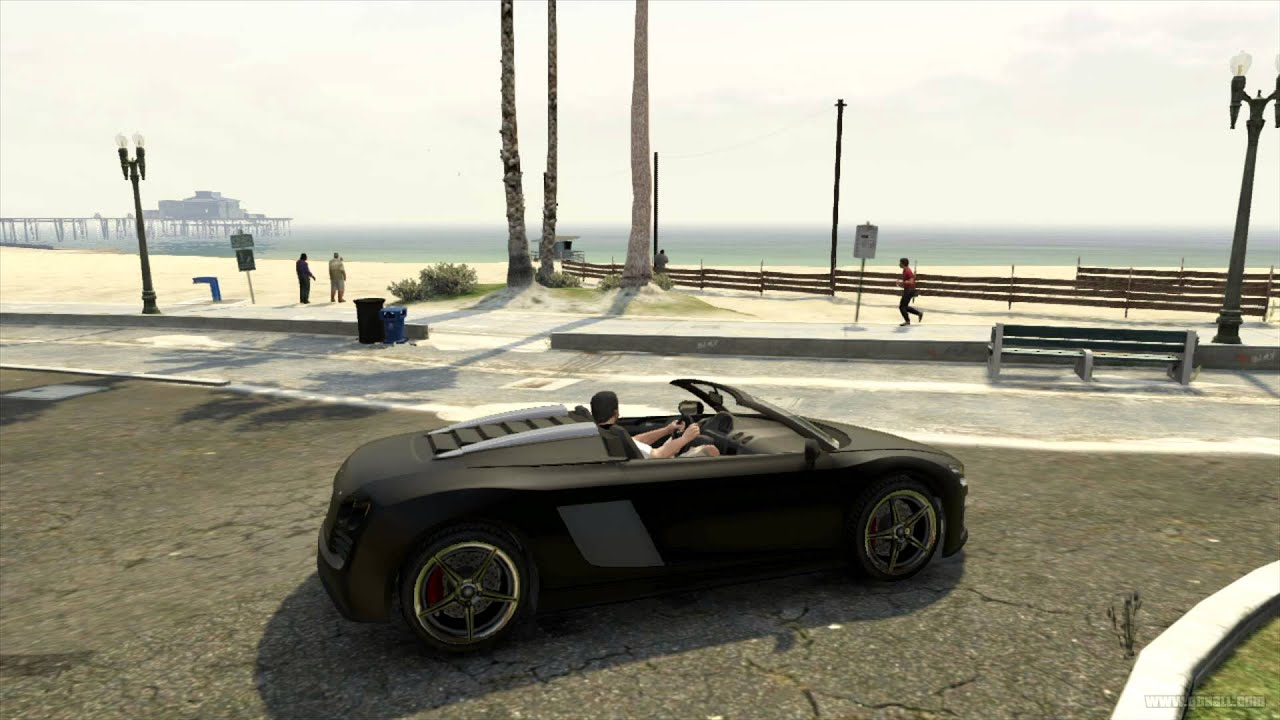GTA 5 Transport - Obey 9F Cabrio - YouTube