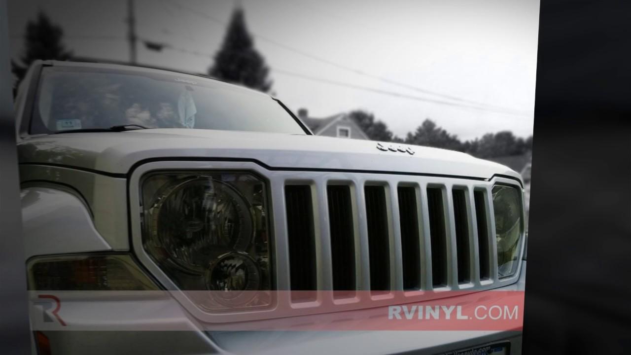 Jeep Liberty Smokedheadlights