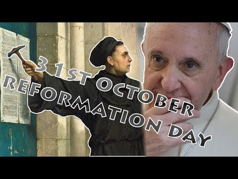 Pope Francis Hidden Secret About 31st October Reformation day!