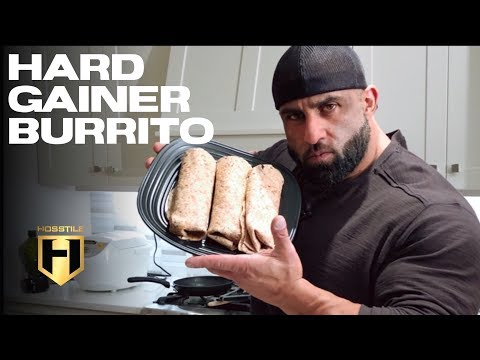 MUSCLE BUILDING MEALS | Hard Gainer Burrito!