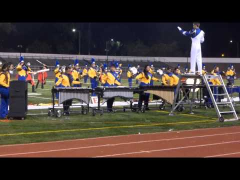 Santa Clara High School (SCHS) Marching Band Pit - Independence - Nov. 8, 2014