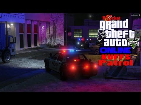Drugs, Stolen Cars, and a Bank Robbery | KUFFS Patrol | GTA 5 LSPDFR Online 5 Reborn (Darkmyre Runs)