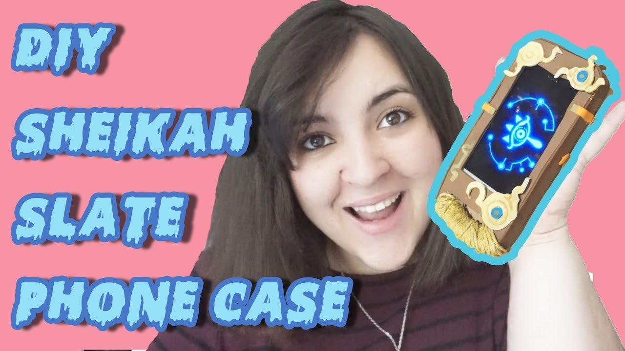 huge discount 302c7 3f822 DIY Sheikah Slate Phone Case