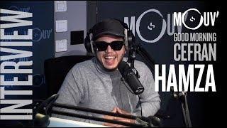 HAMZA : Drake, Michael Jackson, le rap belge... #MORNINGCEFRAN