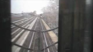 MTA D train Manhattan - Brooklyn via Manhattan Bridge NYC