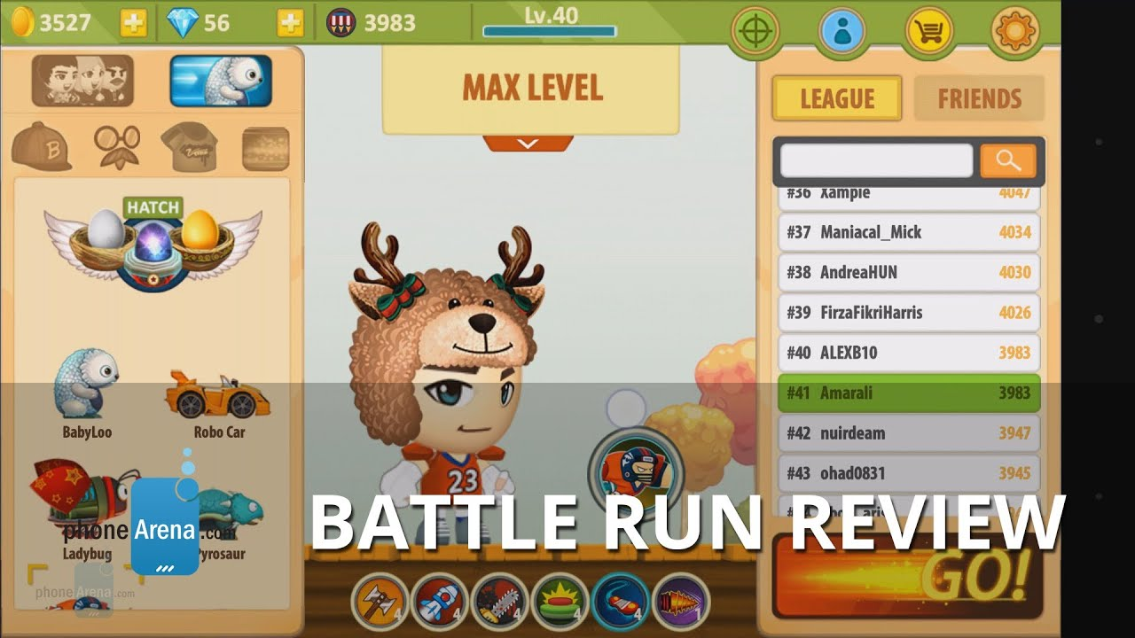 Battle Run Review