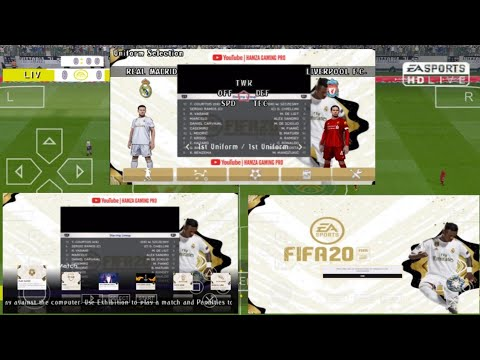 PES 2020 PSP CHELITO English Android Offline Full Update Januari Mod FIFA Ultimate Team Gold Edition