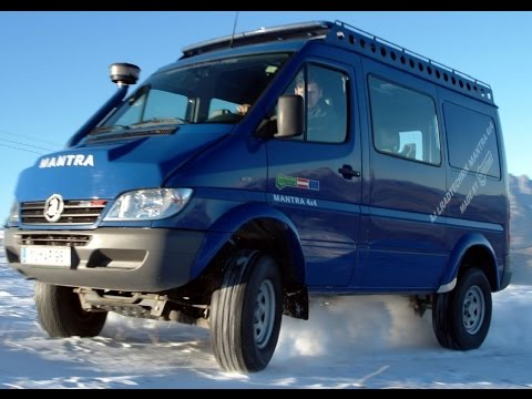 4X4 Van For Sale >> Sprinter 4x4 Mantra Achleitner - YouTube