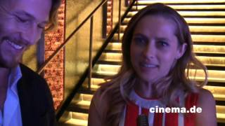 Point Break //  Teresa Palmer und Luke Bracey // Interview // CINEMA-Interview