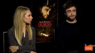 Horns Interview With Daniel Radcliffe and Juno Temple [HD]
