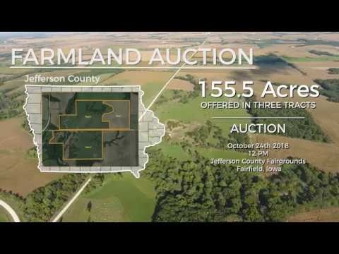 Jefferson County 155.5 Acres Farmland and Pasture Auction