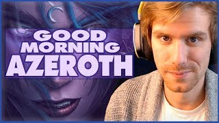 GOOD MORNING AZEROTH | Leveling the Disc Priest - Mage Tower Prep | World of Warcraft Legion