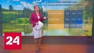 """""""Погода 24"""": чем запомнится лето-2017"""