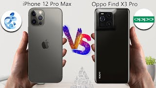 iPhone 12 Pro Max VS Oppo Find X3 Pro | Apple | Oppo | VS | Comparison | Tag to Tech