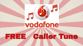 ... follow the steps from video to get free caller tune on your vodafone mobile network for lifetime !! vodafon...