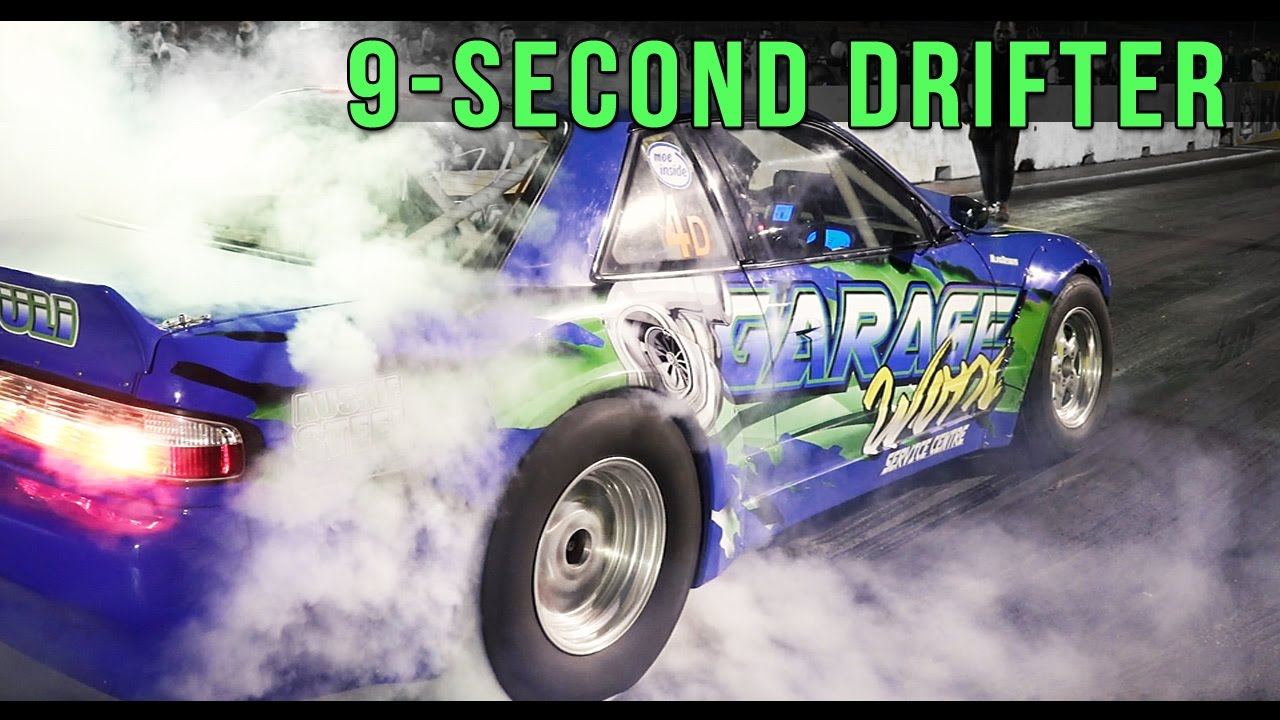 9 Second Drift Car | Nissan Silvia By Garage Worx