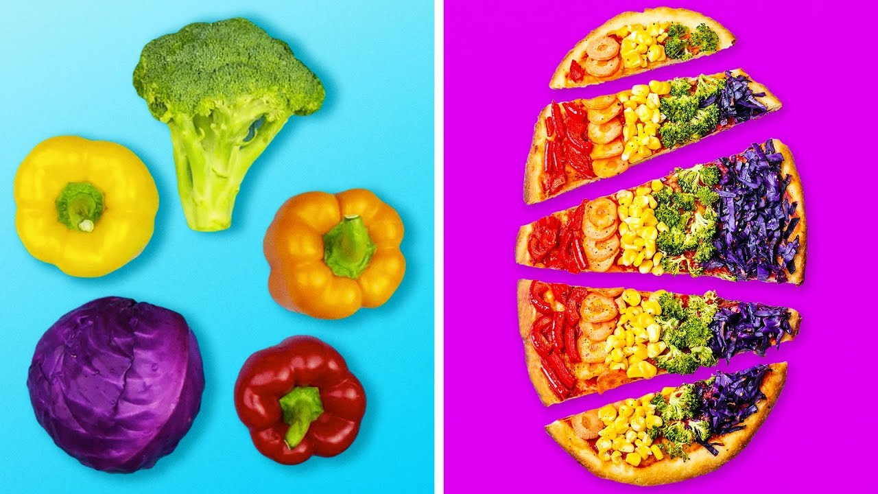 17 COLORFUL AND YUMMY RECIPES FOR KIDS