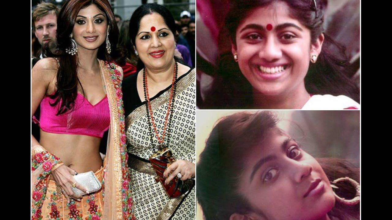 indian actress shilpa shetty rare amp unseen childhood