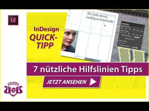 7 nützliche Hilfslinien Tipps // InDesign QUICK-TIPP