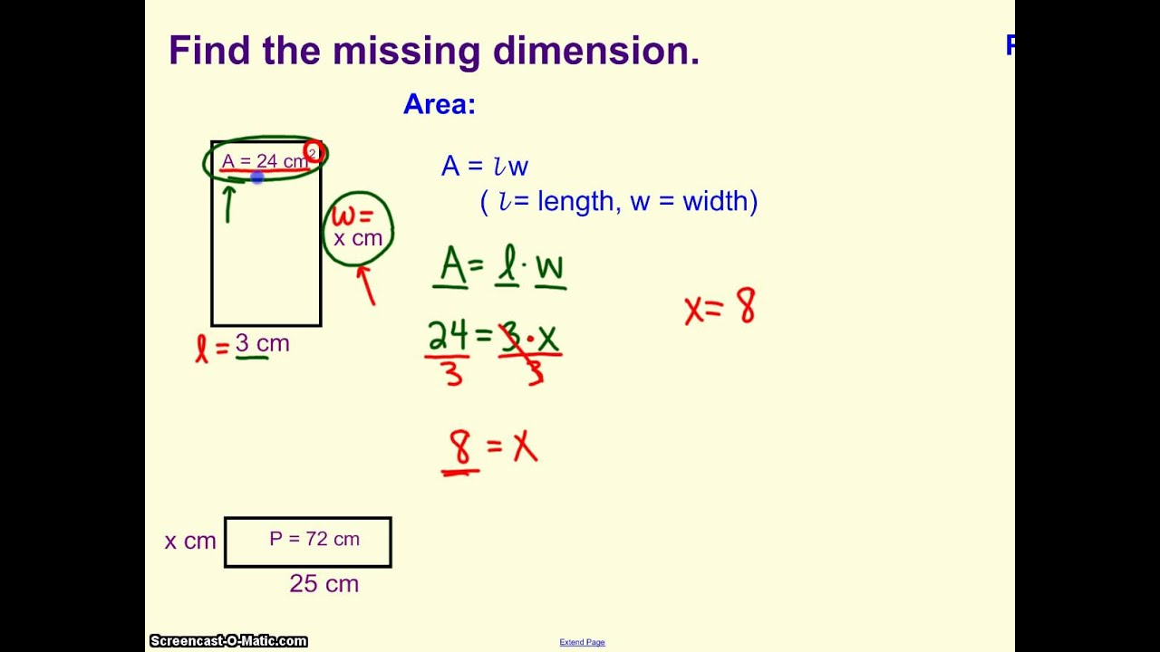 Find The Missing Dimension
