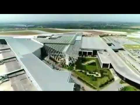 LATEST drone video of New Islamabad International Airport (Nov 2017)