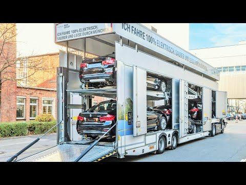 Electric Truck Car-Carrier for BMW Group