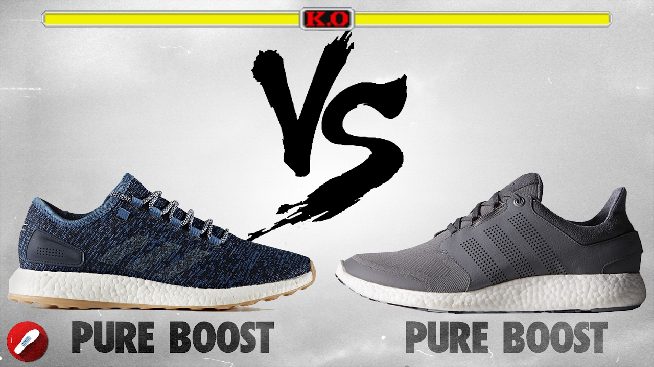 330bf7934390 Adidas Pure Boost 2017 vs Pure Boost 2m! - YouTube