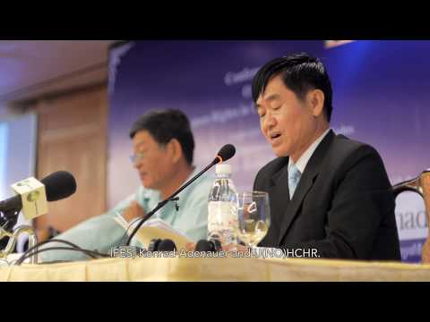 Speech by Mr. Hang Puthea at Public Conference On Human Rights in Cambodia Today