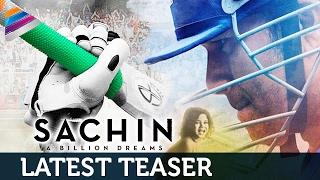SACHIN Movie Motion Teaser | Sachin Tendulkar | AR Rahman | #SachinABillionDreams | Telugu Filmnagar