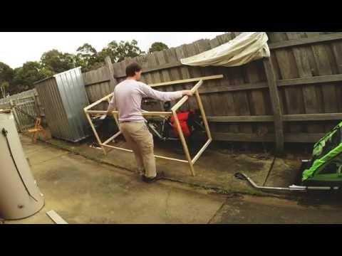 Building Lightweight Bike Shed